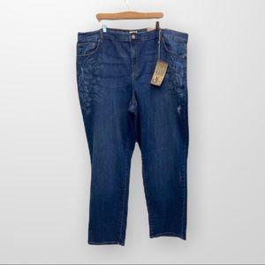 DC JEANS Straight Leg Curvy Fit Size 26